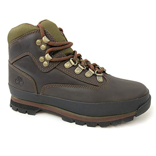 Timberland Womens Euro Hiker Brown Leather Boots (9.5) Timberland Womens Euro Hiker