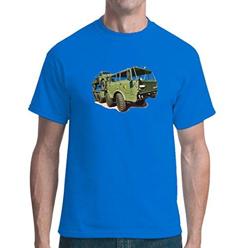 DDR Ossi unisex T-Shirt - LKW Tatra 813 Armee-Oliv by Im-Shirt Royal