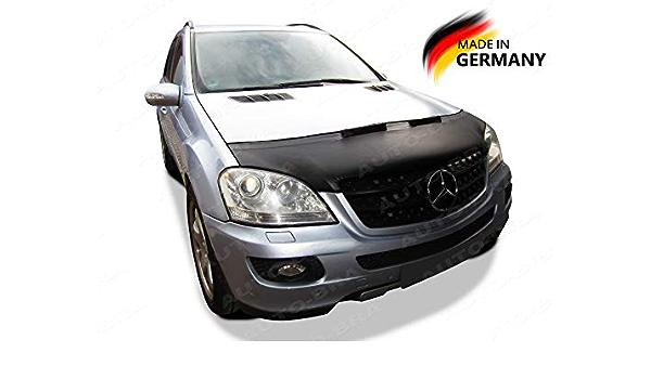 Ab3 00137 Auto Bra Kompatibel Mit Mercedes Benz Mb Ml W164 2005 2011 Haubenbra Steinschlagschutz Tuning Bonnet Bra Auto