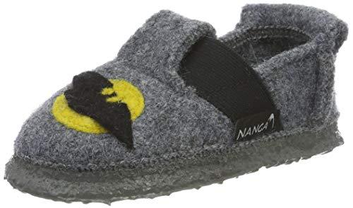 Nanga Jungen Bats Pantoffeln, Grau (Mittelgrau 64), 32 EU
