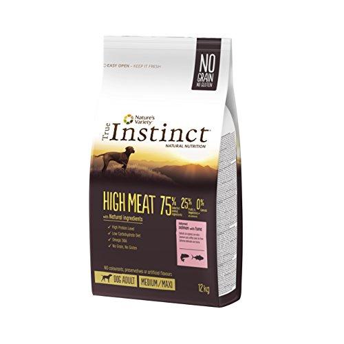 True Instinct - Pienso para Perros Adultos High Meat Medium/Maxi salmón y...