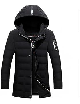 abrigo de invierno chaqueta de negocio de los hombres al aire libre , black , xl
