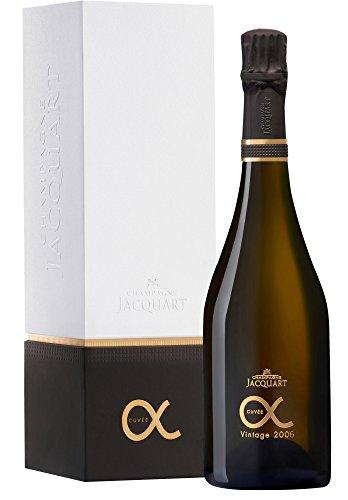 Champagne Jacquart Cuvée Alpha Die Spitze mit geschenkverpackung (1 x 0.75 l)