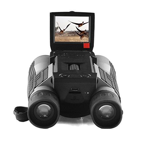 Gemtune FHD Fernglas Digitalkamera Teleskop Digital Camera Binoculars with Folding Prism hohe Auflösung (Ccd-kamera-teleskop)