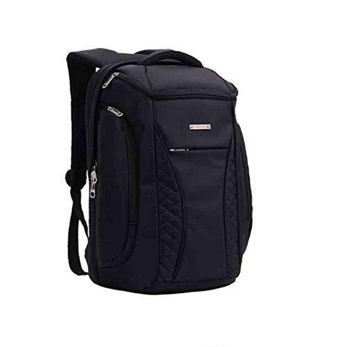 Sunny Rucksack-Flug genehmigte weitermachen-Taschen-massives Reise-Handgepäck, humanisierter Entwurf, stoßsicheres Computerlager, große/kleine Größe (Farbe : Black, größe : Large)