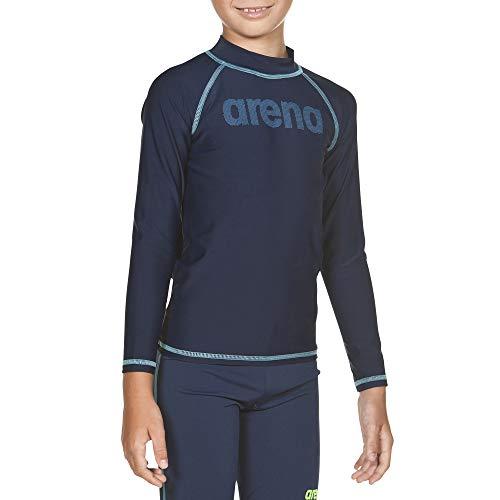 ARES5 Arena Jungen Sonnenschutz Langarm Shirt Uv, Navy-Sea Blue, 152 -