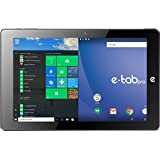 E-TAB Tablet Pc Pro Z8350 Qcore 10,1 Ips Fhd 4gb Ram 64gb Slot Sd Micro Usb Micro Hdmi Usb 3.0 Type-c Windows 10 Pro Nao
