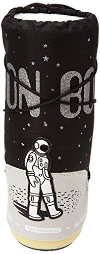 Moon Boot - Space - , homme, noir (nero/beige), taille Noir - Nero/Beige