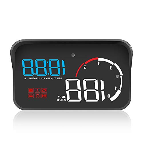 DishyKooker Auto OBD2 Hud Head Up Display Digital