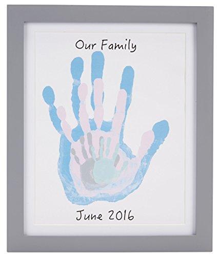 Pearhead p63024 cornice da tavolo e parete per le impronte di tutta la famiglia