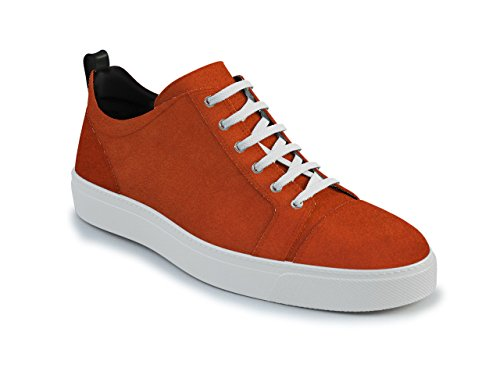 DIS - Pietro - Sneakers Basses - Unisexe Orange