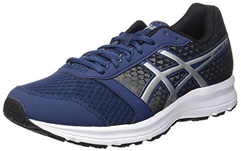 Asics Patriot 8, Chaussures de Running Compétition Homme, Bleu (Insignia Blue / Silver / Black), 44 EU