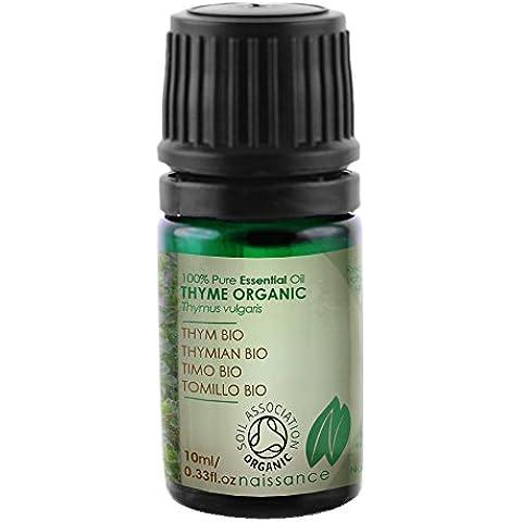 Tomillo BIO - Aceite Esencial 100% Puro - Certificado Ecológico - 10ml