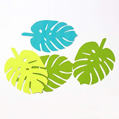 Jiaxingo 30 Stück Tropischen Dschungel Blatt Ausschnitte Palmblatt Luau Partei Dekoration Dschungel-thema Dinosaur Theme Party Favors