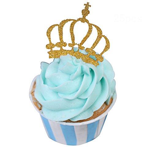one Cupcake-Topper für Hochzeitsparty SKCQ003 ()