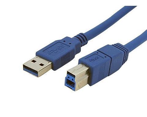 USB 3.0 2M Meter Druckerkabel / A Stecker auf BT-Stecker (Stecker auf Stecker) / Ultra hoch Geschwindigkeit Daten Blei / (Skyline Pin)
