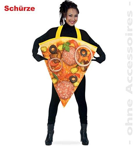 FASCHING 10871 Kostüm Pizza Schürze NEU/OVP: Größe: ()