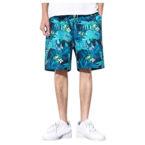 Board Shorts Men, Dasongff Herren Badeshorts Freizeit Sommer Badeanzüge Strandhosen Bedruckt Swimwear Trainingshose Lockere Beiläufige Freizeithose Capri Thai Hose (X-men Tier Kostüm)
