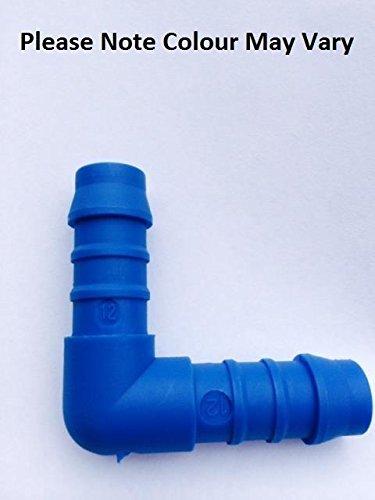 Winkelverbinder für Gartenbewässerungssysteme, 12 mm, zur Verlängerung von Rohren und Leitungen
