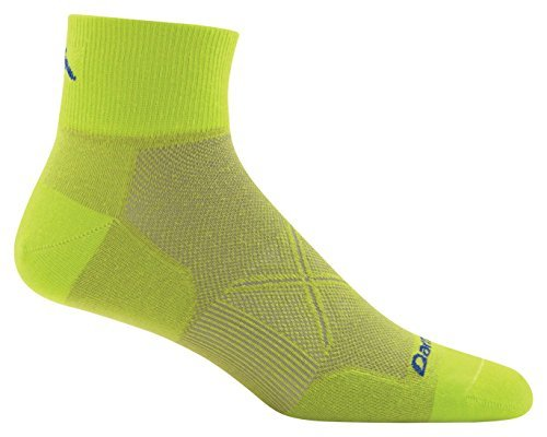 Darn Tough Coolmax Vertex 1/4 Ultra Light Cushion Socken, Herren, Sulphur Spring (Coolmax-läufer)