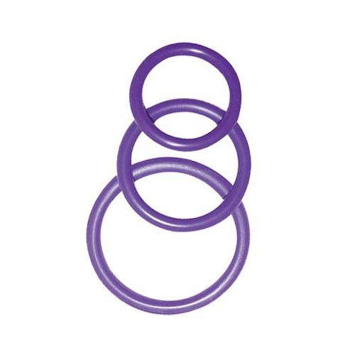 Orion Penis & Hoden Ringe 3er-Set in lila