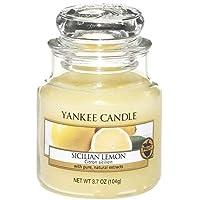 Yankee Candle Small Jar Candle, Sicilian Lemon