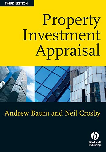 Property Investment Appraisal, 3rd Edition