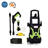Stream High Pressure Washer, 1700W 135Bar 330L/H Electric Portable Light Power Washer Patio