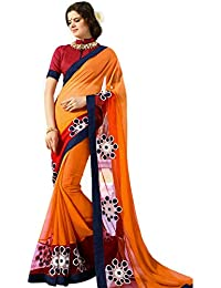 Vestido Ustaad, para mujeres Sari, tradicional, talla única, marrón