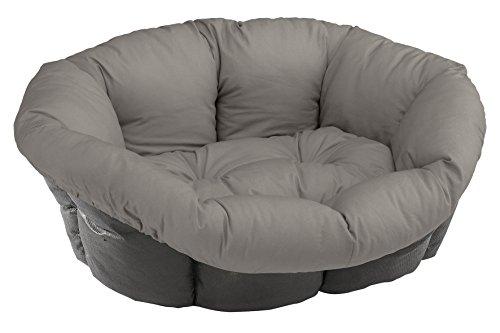 Ferplast Kissen Sofa Wickeldesign Motiv Westy für Bett Siesta Deluxe für Hunde 73x 55x 27cm Größe 6