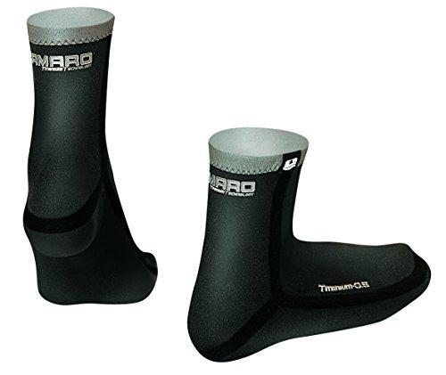 Camaro Neoprensocken Titanium Seamless Socks, Schwarz, 35/36, 236-99 Preisvergleich