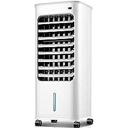 YXQ * Climatiseur portatif - air froid puissant, réservoir d'eau 5L, opération simple, télécommande amovible et télécommandée, petit refroidisseur d'air pour dortoir domestique climatisé - 30.1X29X66c