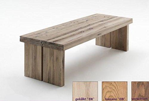 Tisch, Esszimmertisch, Eiche bassano, massiv, 260x100cm