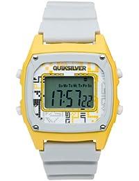 Quiksilver M150DR 14T GRY - Reloj digital de caballero de cuarzo con correa de plástico gris (alarma, luz, cronómetro)