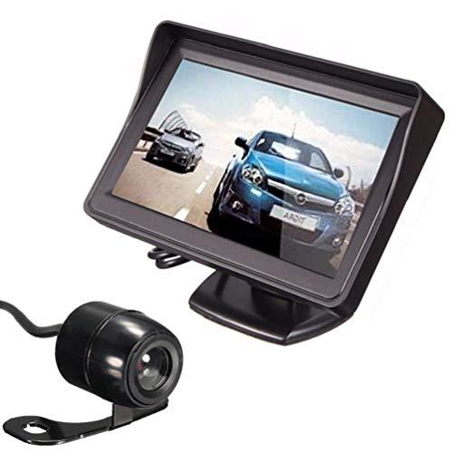 Tft-Bildschirm-HochauflöSender Auto-RüCkansicht-Monitor Mit Videokabel-Parkmonitor-Bewegungserkennungs-Dashboard-Kamera, Ansicht Wasserdichte RüCkfahrkamera FüR Auto/Lkw