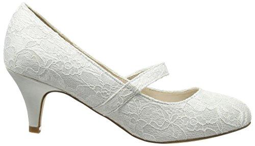 Spot OnF9753 - Scarpe con Tacco donna Bianco (Ivory)