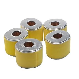 Beehive Filter Pack of 5Air Filter Fits Honda GX340GX39011hp & 13HP ENGINE NEW Aftermarket PART # 17210ZE3010, 17210ZE3505