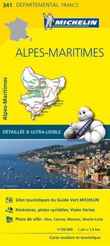 Carte Alpes-Maritimes Michelin