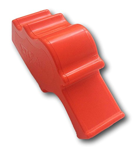 Storm Signalpfeife Safety Whistle, extrem laut ! (Schwarz)