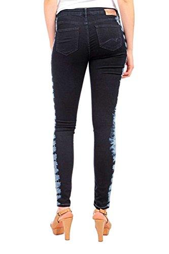 Maison Scotch Damen Jeans Skinny Legging Dunkelblau, Jeanshose für Frauen, Legging Fit La Voyage Türkis (48 - denim blue)
