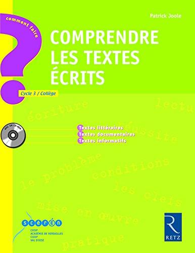 Comprendre des textes écrits (+ CD-Rom)