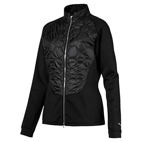 PUMA Damen W Dassler PWRWARM Jacket Zip Jacke, Black, M