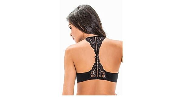 Besired Soutien-gorge push-up dos nageur - noir - 90B  Amazon.fr  Vêtements  et accessoires 089259f41bf