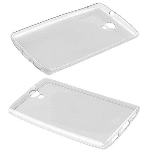 caseroxx TPU-Hülle für HomTom HT7 / Pro, Tasche (TPU-Hülle in transparent)