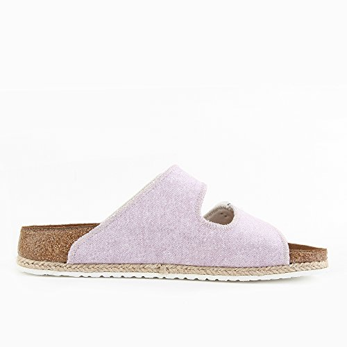 P-A Arizona Birko-Flor, Mules Femme Violet (Beach Purple)