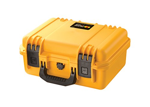 wasserdichte Schutzhülle (Dry Box), Pelican Storm, Mit gepolsterten Trenneinsätzen, gelb -