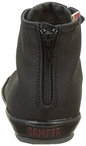 Camper Hoops, Sneaker Donna Nero (Black)
