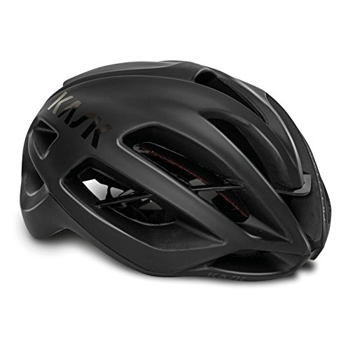 Price comparison product image Kask PROTONE Pro Tour Road Cycling Helmet – Black / Red,  Unisex,  dull black,  Large