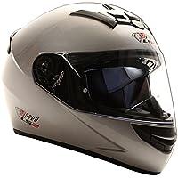 LS2 Rookie FF352 Integralhelm Silber - Sonderedition Speed Racewear - Kart & Motorradhelm (S (55-56cm))