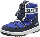 Moon-boot Jr Boy Mid WP, Stivali da Neve Bambini e Ragazzi, (Blu 002), 36 EU